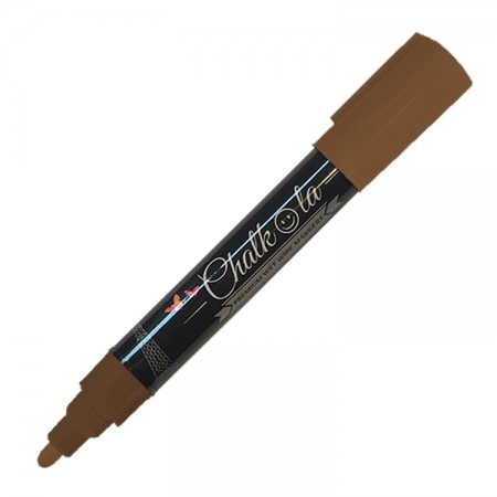 Brownie bruin krijtstift 2-6 mm