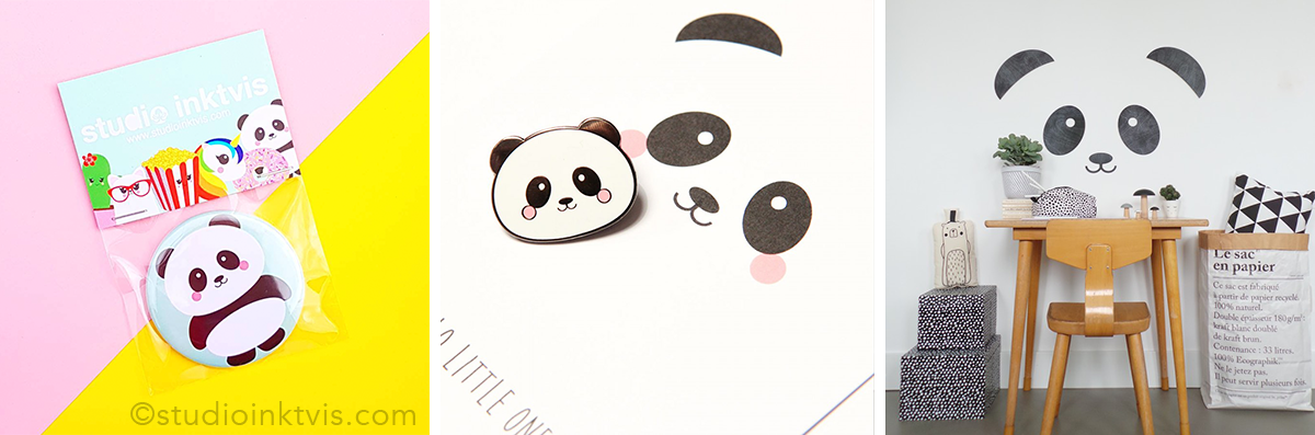 cross selling Studio Inktvis Panda