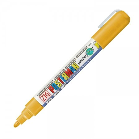 Goud waterproof krijtstift 2 mm