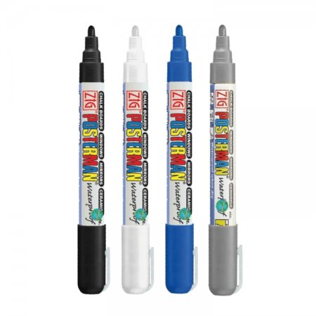 Kerst cool waterproof krijtstift set 2 mm