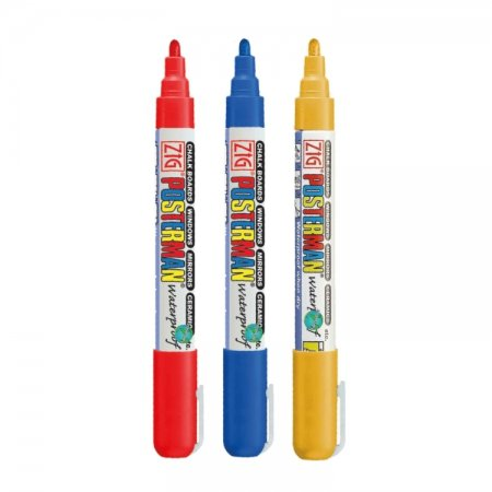 Sinterklaas waterproof krijtstift set 2 mm