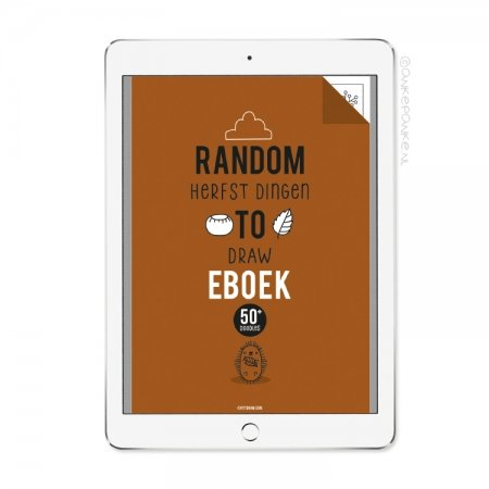 Random herfst dingen to Draw eboek/printable