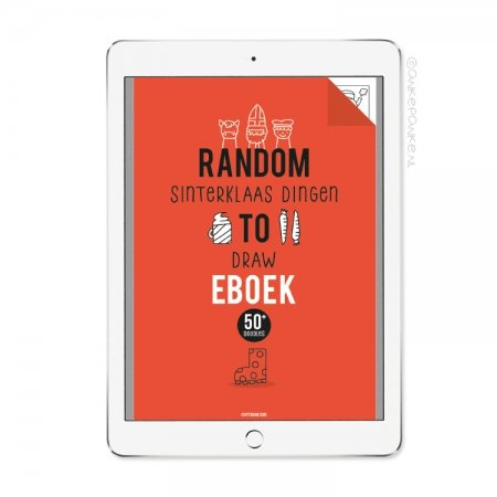 Random sinterklaas dingen to Draw eboek/printable